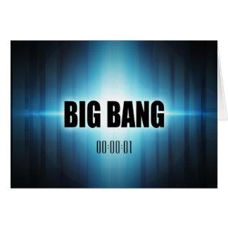 Big Bang Greeting Card