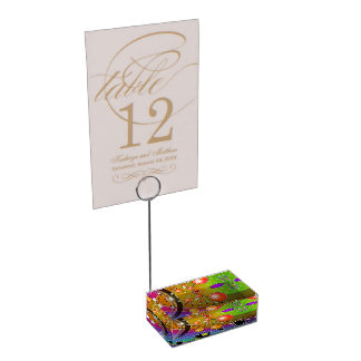 BIG BANG POP ART TABLE CARD HOLDERS