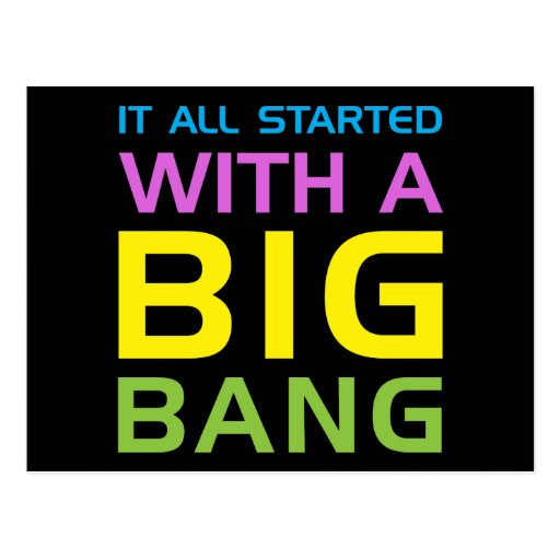 Big Bang Postcards