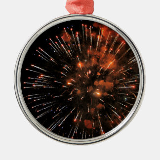 Big Bang Silver-Colored Round Decoration