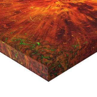 big bang stretched canvas print