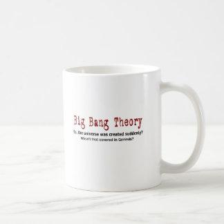 Big Bang Theory Basic White Mug