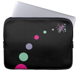 Big Bang Theory color splat planets outer space Laptop Computer Sleeves