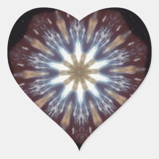Big Bang Theory Kaleidoscope Heart Sticker