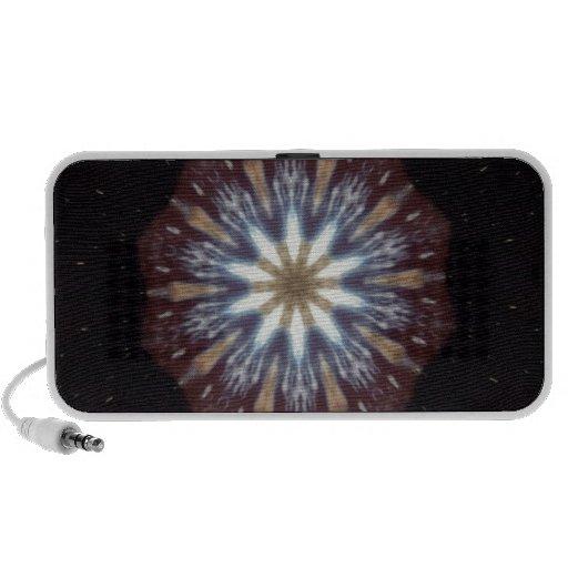 Big Bang Theory Kaleidoscope Laptop Speakers