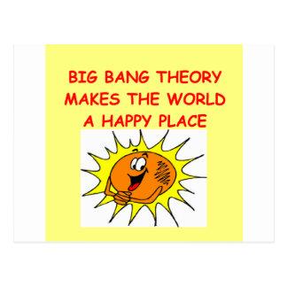 big bang theory postcard