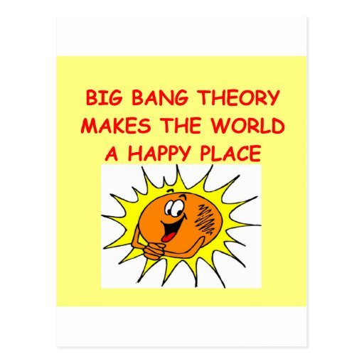 big bang theory post cards