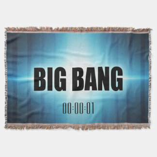 Big Bang Throw Blanket