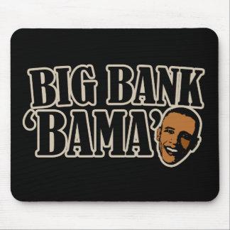 Big Bank Bama AntiObama Funny Political Mouse Pad