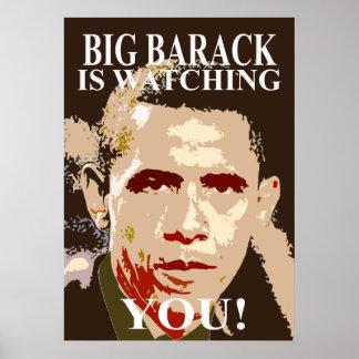 Big Barack Poster 1984 Size