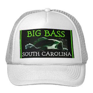 """Big Bass"" South Carolina Mesh Ballcap Mesh Hats"