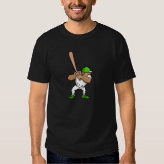 Big bat little player t shirts