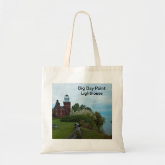 Big Bay Point Lighthouse Tote Bag