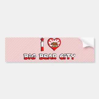 Big Bear City, CA Car Bumper Sticker