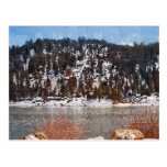 Big Bear Lake, Winter Snow Post Card