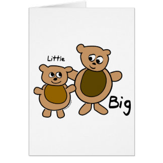 Big Bear Little Bear Card