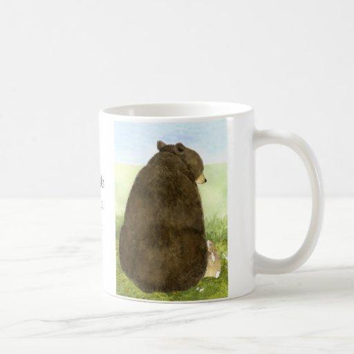 Big Bear Little Bunny Friendship Mug