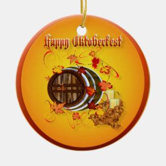 Big Beer-Happy Oktoberfest  Ornament