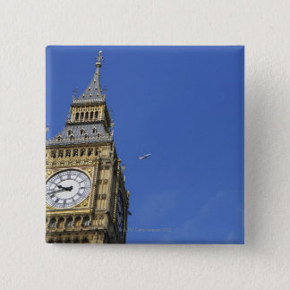 Big Ben 3 15 Cm Square Badge