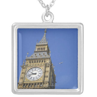 Big Ben 3 Silver Plated Necklace