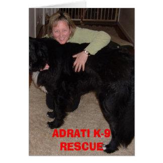 Big Ben, ADRATI K-9 RESCUE Card
