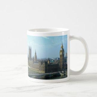 Big Ben and Houses of Parliament - London Basic White Mug