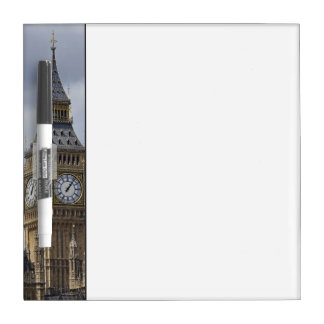 Big Ben and Houses of Parliament, London, Dry Erase Board