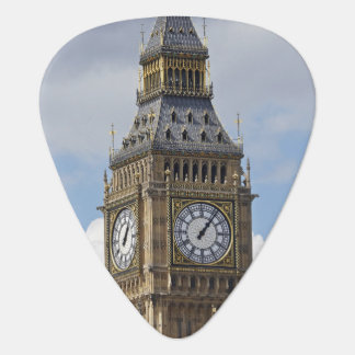 Big Ben and Houses of Parliament, London, Guitar Pick