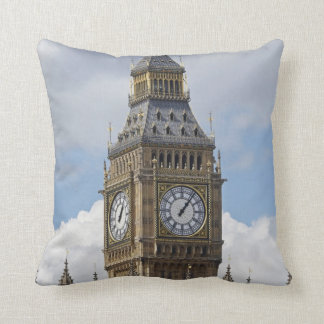 Big Ben and Houses of Parliament, London, Throw Pillow