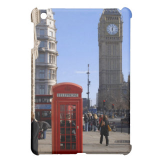 Big Ben and Red Telephone box in London iPad Mini Case