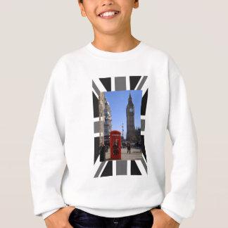 Big Ben and Red Telephone box in London Sweatshirt