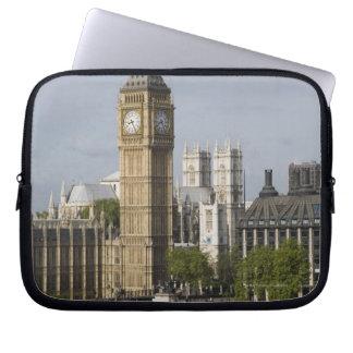 Big Ben and Thames River Laptop Sleeves