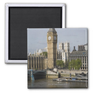 Big Ben and Thames River Magnet