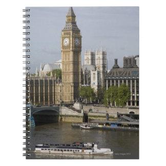 Big Ben and Thames River Note Book