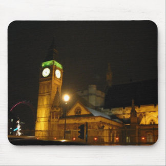 Big Ben and the London Eye - Customized Mouse Pad