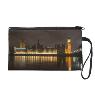 Big Ben and the parliament at night Wristlet