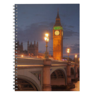 Big Ben and the Westminster Bridge Note Books