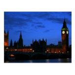 Big Ben and Westminster Postcard