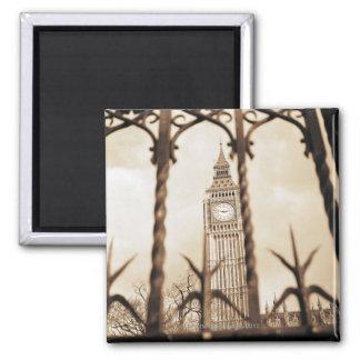 Big Ben at Parliament, London Fridge Magnets