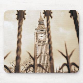 Big Ben at Parliament, London Mouse Mat