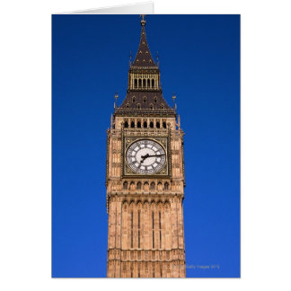 Big Ben at the British Capital Card
