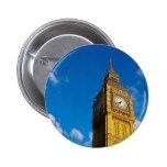 Big Ben Blue Sky Button