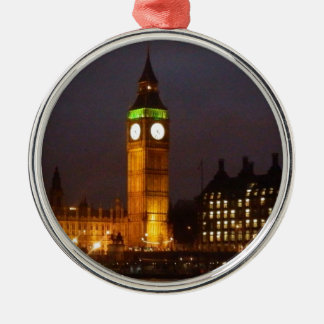 Big Ben by night Christmas Ornament