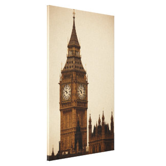 Big Ben Gallery Wrapped Canvas