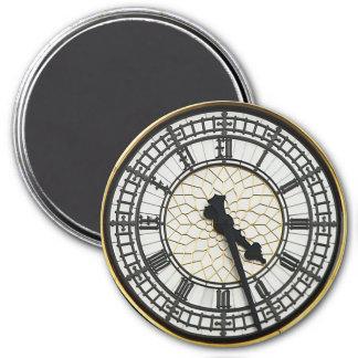 Big Ben Clock Face 7.5 Cm Round Magnet