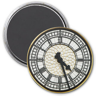 Big Ben Clock Face Magnet