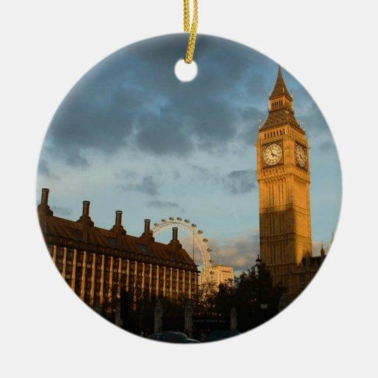 Big Ben clock ornament