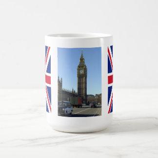 Big Ben Clock Tower London Basic White Mug