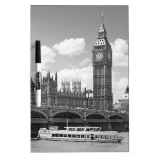 Big Ben Clock tower London Dry Erase Whiteboards
