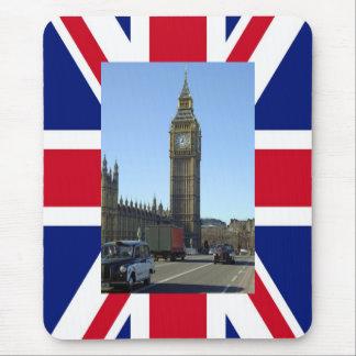 Big Ben Clock Tower London Mouse Pads